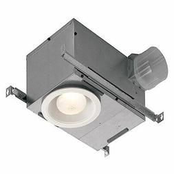 Recessed Bathroom Fan with Light