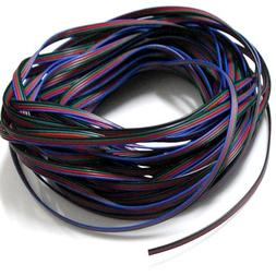 EvZ 4 Color 20m RGB Extension Cable Line for LED Strip RGB 5