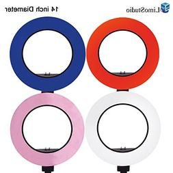 "LimoStudio 12"" to 14"" Ring Light 4-COLOR Soft Elastic Cover"