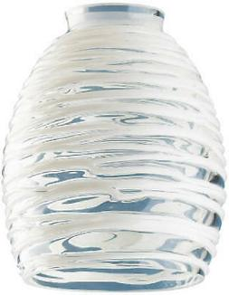 Rope Design Glass Ceiling Fan Light Shades - Pack of 4