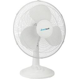 """Royal Cove 2477857 3-Speed Oscillating Table Fan, 16"""""""