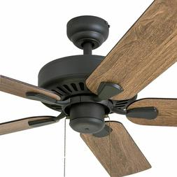 rustic ceiling fan with pull chain low