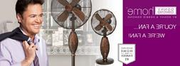 Harmony Table Fan - Donny Osmond Home Collection