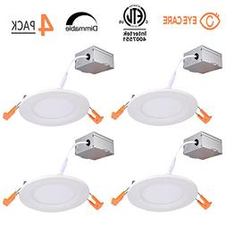 4 Inch Slim LED Downlight Dimmable 9W  LED Recessed lighting