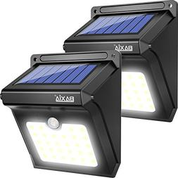 BAXIA Technology LED Solar Lights Outdoor, 400 Lumens Wirele