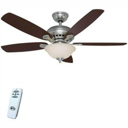 Southwind 52 in LED Indoor Ceiling Fan with Light Kit and Re