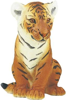 StealStreet SS-G-54379 Brown Bengal Tiger Cub Sitting Statue