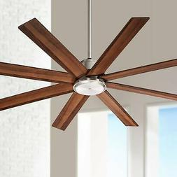 """60"""" The Strand Brushed Nickel Ceiling Fan"""