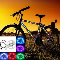 GOESWELL Led Strip Light Waterproof SMD 5050 RGB Flexiable L