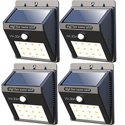 【Super Bright】12 LED Solar Lights, Iextreme Waterproof S