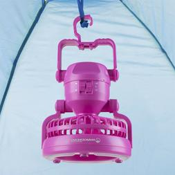 Tent or Table LED Light Ceiling Fan Battery Operated 2 D Cel