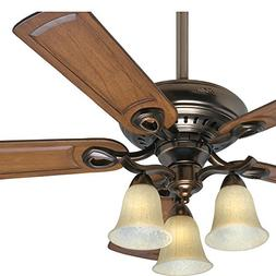 Hunter Fan 52 inch Traditional Ceiling Fan in Bronze Patina