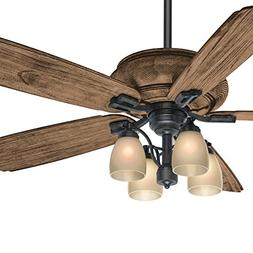 Casablanca 60 inch Transitional Ceiling Fan with 4 Lights an