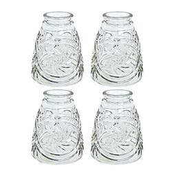 Aspen Creative 23012-4 Transitional Style Replacement Clear
