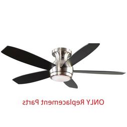 Treviso 52 in. Brushed Nickel Indoor LED Ceiling Fan Replace