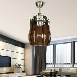 """US 42"""" LED Ceiling Fan Light /Remote Control Modern Style Co"""