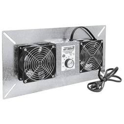 Tjernlund V2D  Model UnderAire Crawl Space Fan Ventilator, D
