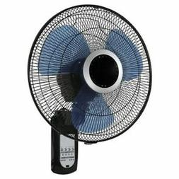 Pelonis Wall Mount Fan 23 in-H X 16 Dia - 3 Speed Oscillatin