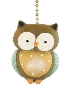 Whooos A Wise Little Owl Ceiling Fan Pull or Light Pull Chai