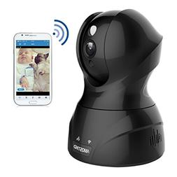 AMOSTING Wireless Security Camera, Night Vision WiFi Camera