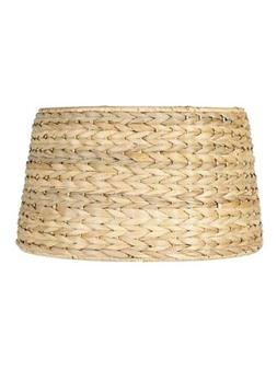 Upgradelights All Natural Woven Seagrass 19 Inch Floor or Ta